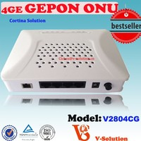 4*1000M Fast Ethernet Port PON ONU In Building Solution For Telecommunications