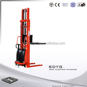 2014 semi electric straddle stacker & electric forklift price