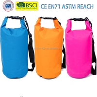 Classic Multi Colors Waterproof Dry Bag -Long adjustable Shoulder Strap,Perfect For Camping,Boating,Fishing,Rafting,Swimming