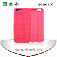Two-tone TPU+PC cover/case with pinhole for apple iphone 6,wholesale