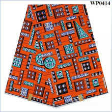 Lastest ankara fabric african wax print for clothing wholesale ankara fabric WP0414
