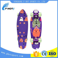high quality maple deck mini longboards skate board longboard CE approved