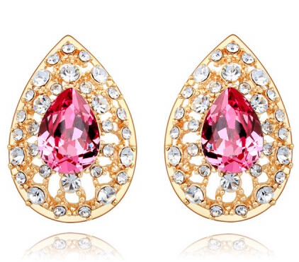 17239 earrings 2015 stone crystal from swarovski