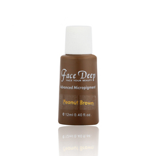 Latest Launch Face Deep Peanut Brown Permanent Makeup Semi Cream Pigment For Eyebrows Micropigment