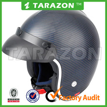 New design and popular Carbon Fiber material motorcycle open face helmet for sale