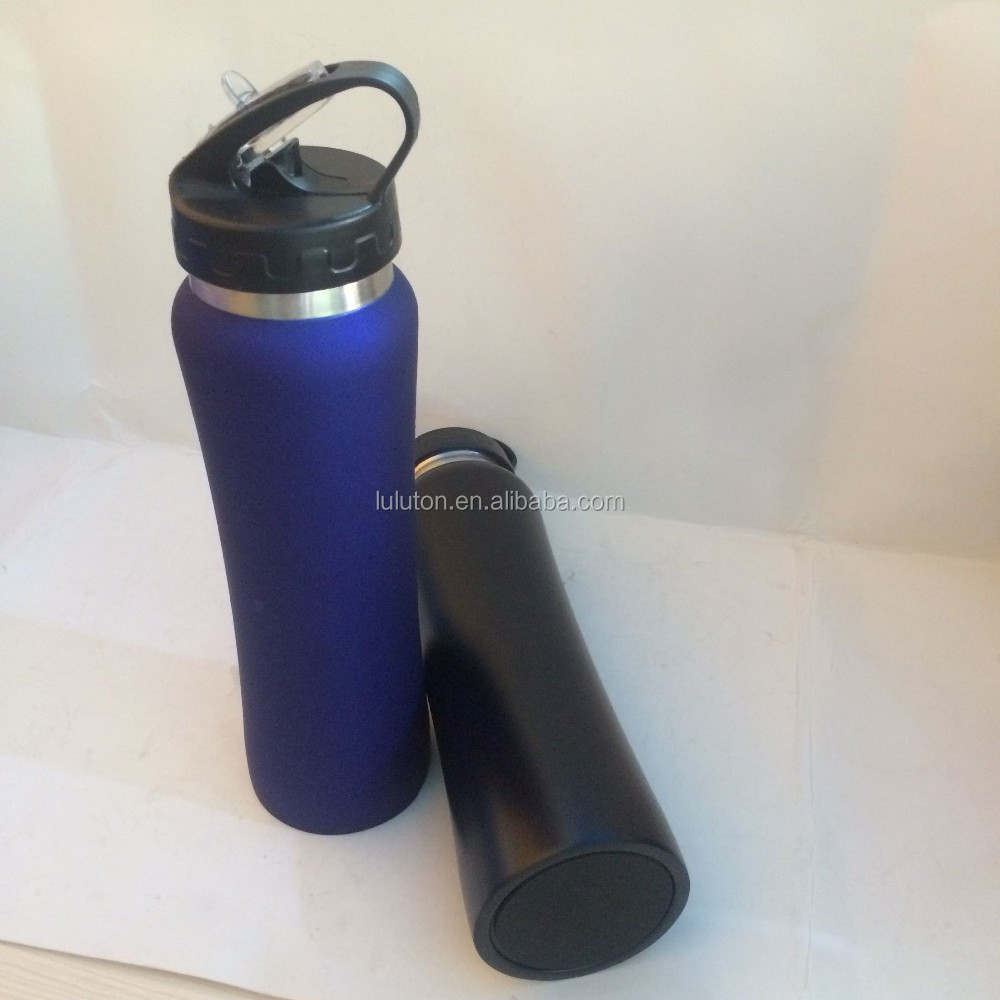 Stainless Steel Double Wall Vacuum Insulated Travel Bottle, BPA Free