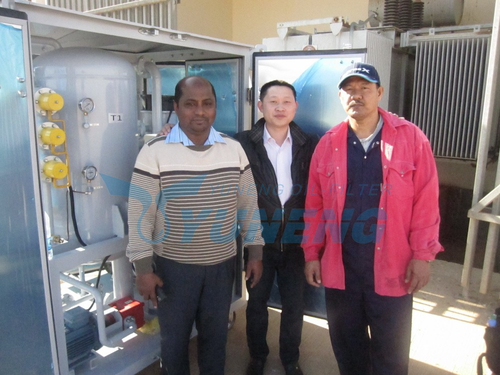 China Famous Supplier Transformer Oil Filtration Machine with Trailer