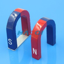 educational red alnico horseshoe magnet