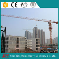 hot sale high quality cheap PT5513 8t 55m jib topless tower crane, spare parts
