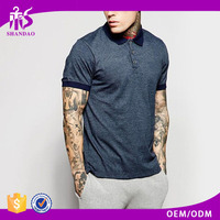2016 Shandao Supplier Summer High Quality Soft Short Sleeve Casual 240g 100%Cotton Cheap Us Polo T Shirts