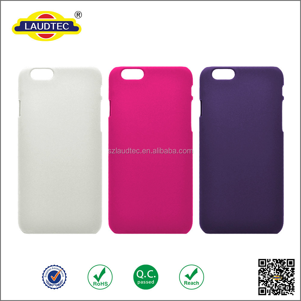 Various colors available cell phone rubber case for iphone 6