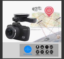 2.7 inch Ambarella A7LA50 2K 1296P HD DVR Dashcam Manual Car Video Camera Recorder with GPS