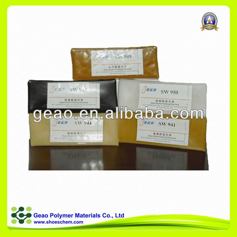 SW-944 leather polishing wax with available color for shoes leather upper