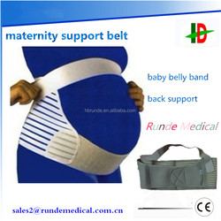 OEM service factory fish silk cloth abdomen band maternity support