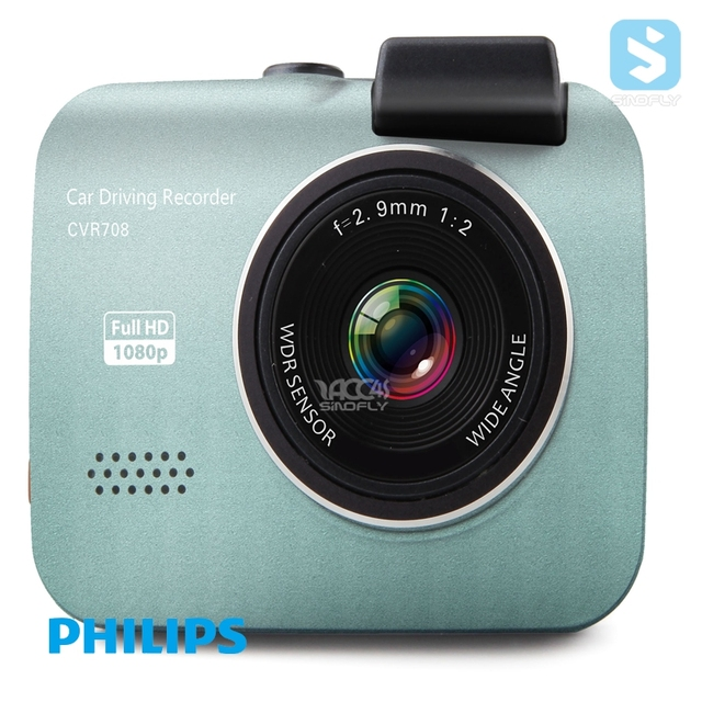 New arrival Philips Black Box 2.0 Inch High Definition Waterproof Car Camera