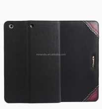 Special new coming vintage cow leather cell phone case for ipad air