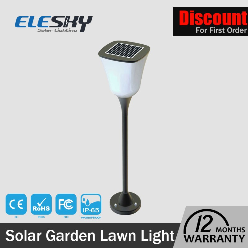 Solar Path Yard Light 12LED Solar Powered Waterproof aluminum PC decorative manor house garden lighting