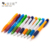 2018 New Office Stationery Colorful Custom Logo Printing Advertising Plastic Ball Pen