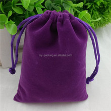 2016 promotional gifts velvet custom printed jewelry pouches jewelry bag velvet pouch