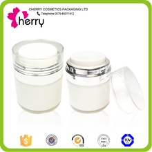 high quality 30g vacuum bottle for clear glass cosmetics jar
