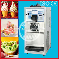 commercial used soft serve ice cream machine