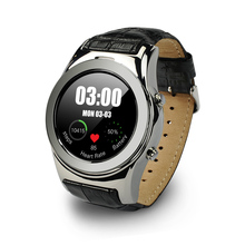 Newest Timepieces LW01 Round Dial Smart Watches Support SIM SD Card GPRS SMS MP3 MP4 Wristwatch For iPhone android phone