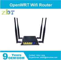 micro Wireless router with serial port support Firewall VPN QOS
