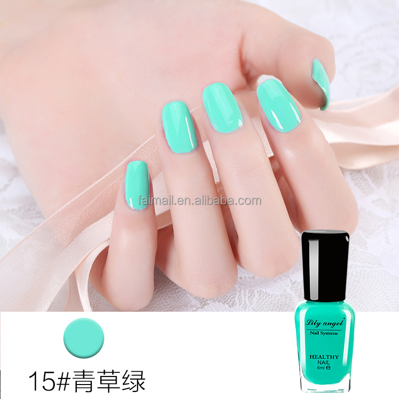 Lilyangel Makeup private label cosmetics nail polish peel off gel polish matte nail polish