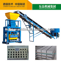 price manual concrete block machine QT40-1 Simple small brick making machine south africa