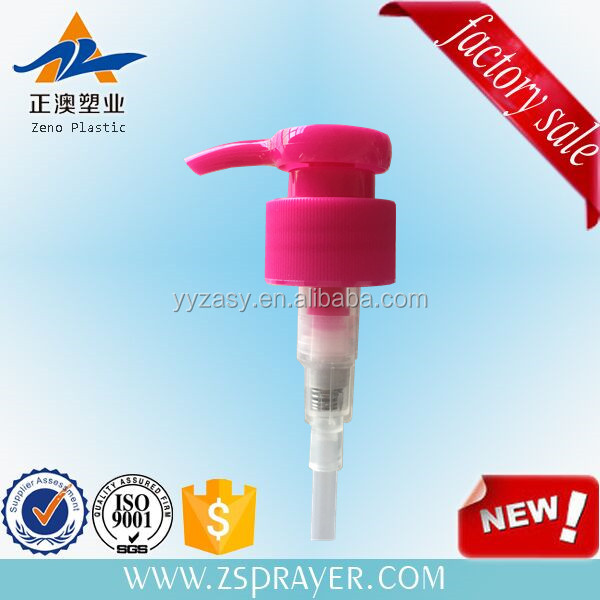 cosmetic pp spring lotion pump twist dispenser pump 28/410