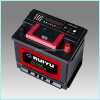 DIN62 New Korea 12v batteries lead acid battery China used cars for sale