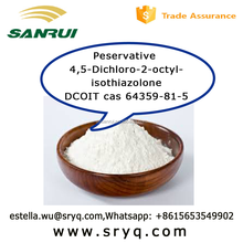 Peservative 4,5-Dichloro-2-octyl-isothiazolone/ DCOIT cas 64359-81-5 bulk buy from China
