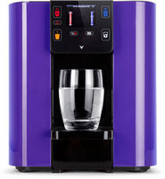 Mini Water cooler purple with TFT touch display