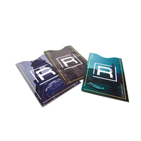 Beautiful fashional popular RFID shield id credit card sleeves for card safe