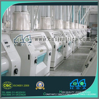 corn grits processing plant corn grits production line