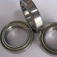 high speed motorcycle thin section / wall 6800 bearing