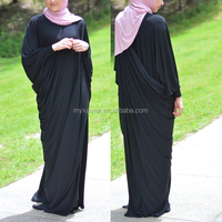 Hotsale OEM factory price abaya dubai fashion black women muslim abaya fashion baju muslim abayas