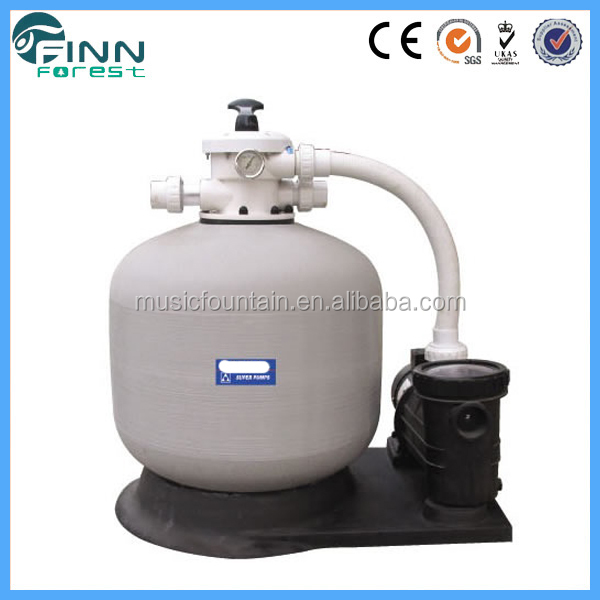 Swimming pool water equipment sand filter with pump on sale
