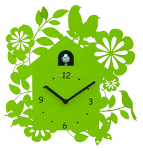 modern cuckoo clock with bird come out, a good decorative wall clocks
