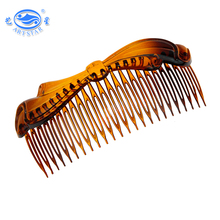 Special price professional design PC 129 mm indian plastic comb hair clip