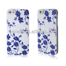 Bulk buy printing case for Apple iPhone 5S, embossed back cover