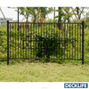 Aluminum Fence Swimming Pool Fencing Welded Fencing Black Color F500