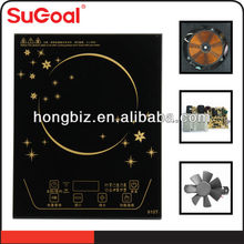 2013 SuGoal cleaning glass ceramic hob/electric frying pan/electric cooking