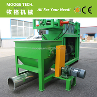 Film squeezer/dewatering/dryer for pe pp plastic pelletizing line