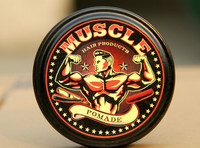 hair pomade MUSCLE pomade water based hair wax 4 oz