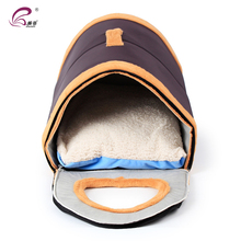 2 IN 1 Pet Cave Dog Bed Tent Kennel Cushion Sleeping Houses