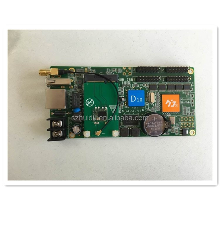 high quality 16x32 P10 Outdoor RGB LED Display Module asynchronous controller HD-D30