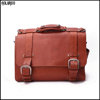 New classic full grain leather bags/mens leather messenger bag/mens genuine leather messenger bag
