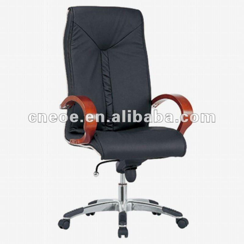 Office system leather director chairs (6010A-3)