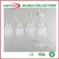 Henso Quadruple Blood Collection Bag